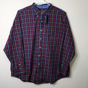NWT CHAPS Button-Up size 4XB Big and Tall